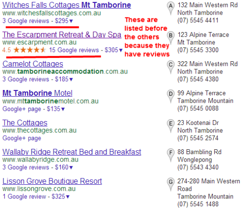 google-local-search-results